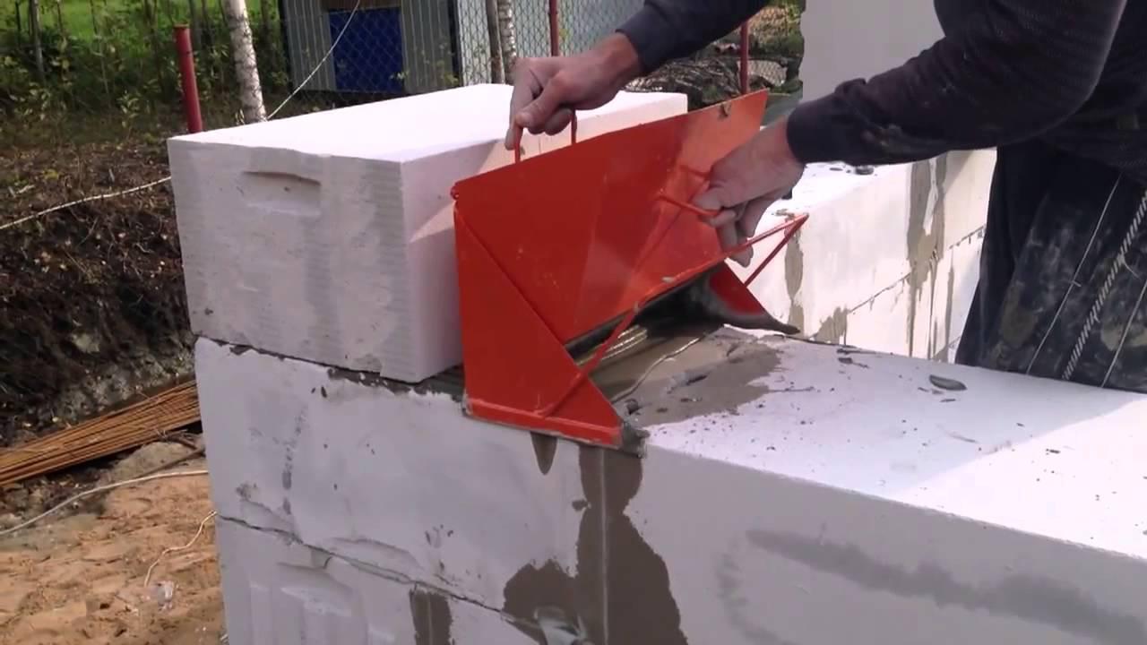 Газосиликатные блоки на клей  видео