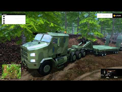 Farming Simulator 2015 Mod Review of HET M1070A1 Package by CraigRock