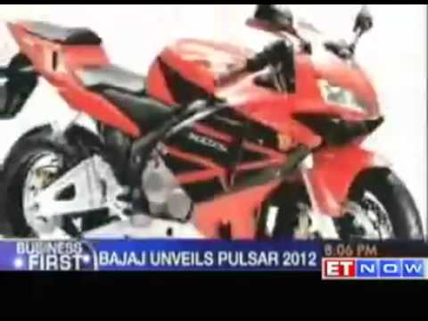 Bajaj Auto launches its new Pulsar 2012