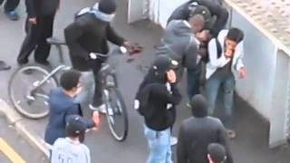 London Riots - Scum Steal From Injured Boy Honiton Computers
