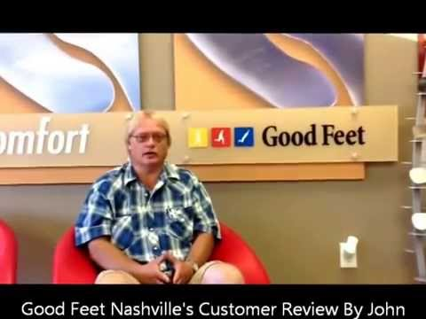 Nashville Good Feet Customer Finds Immediate Pain Relief With Good Feet Orthotics