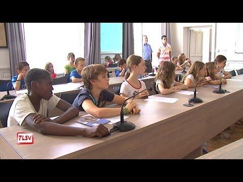 Luçon : fin du mandat pour les conseillers municipaux enfants
