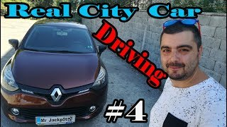 Renault CLIO IV /Real City Car Driving/ POV #4