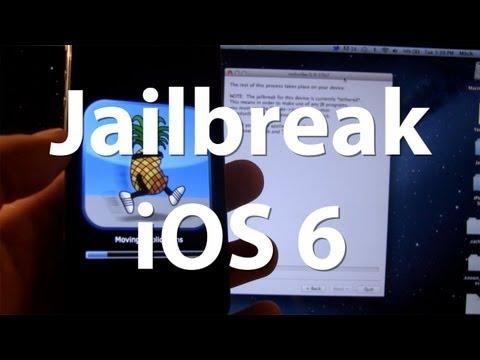 Jailbreak iOS 6 Final - Cydia Installed - iPhone 4. 3GS. 4G - Tethered iOS 6 A4 Jailbreak