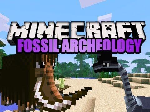 Minecraft: Fossil Archeology Mod 1.4.7