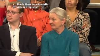 2009: Ray Barry talks about male victims of domestic violence (BBC 'The Big Questions')