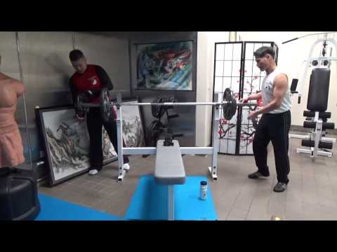 FMK Bench Press Training - Music by Kung Fu Beatz Image 1