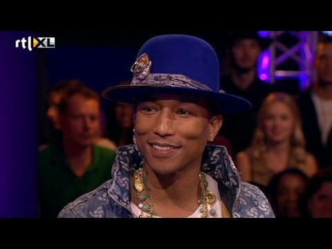 De opkomst van Pharrell Williams - RTL LATE NIGHT