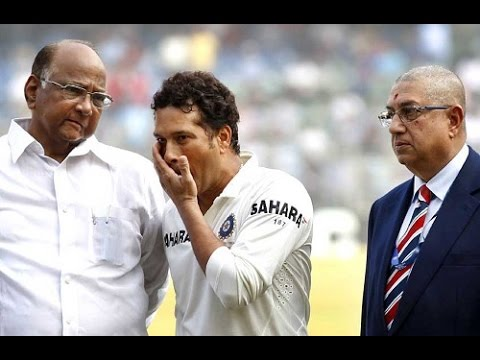 SACHIN TENDULKAR vs GLENN McGRATH - thanks for coming Mr Tendulkar, bye!