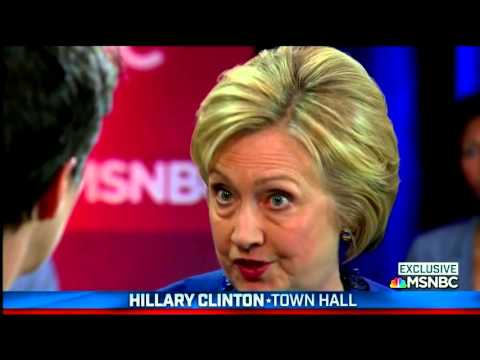 MSNBC Democratic Town Hall | The Worst Line Was...