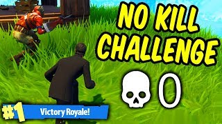 Winning Duos with no weapons! - No Kill Challenge Fortnite Battle Royale