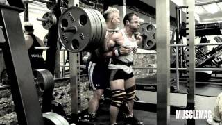 Brutal Leg Training with IFBB Pro Guy Cisternino