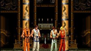 [KOF VS. Street Fighter] Kim & Ryo VS. Ryu & Ken