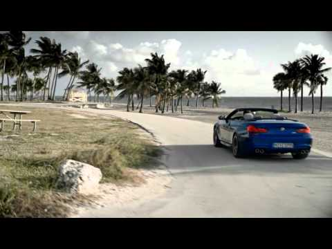 2013 New BMW M6 Convertible динамика, реклама