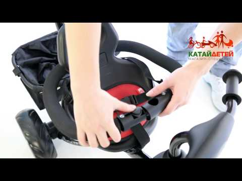 Видео обзор детский трехколесный велосипед Rich Toys Lexus Trike Original Next 2014
