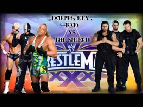 Match Wwe Wrestlemania 30 Wrestlemania 30 Dream Matches
