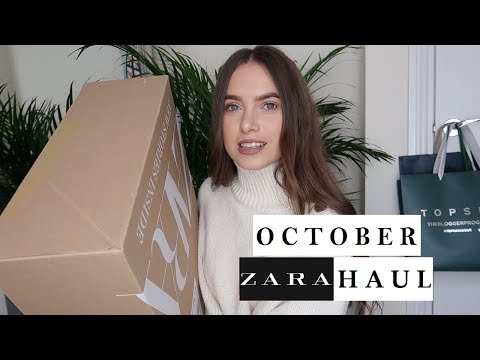 UNREAL ZARA UNBOXING & TRY ON! | Ames.