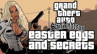 Grand Theft Auto San Andreas All Easter Eggs And Secrets HD