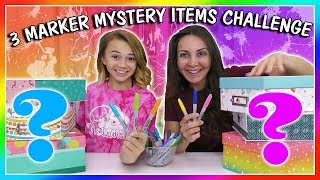 3 MARKER MYSTERY ITEM CHALLENGE   We Are The Davises