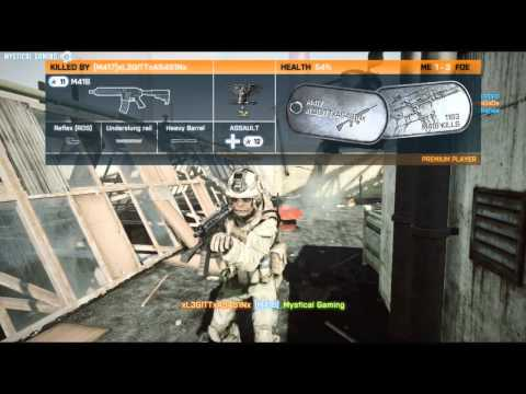Battlefield 3 Close Quarters Conquest Domination Gameplay 45 HD