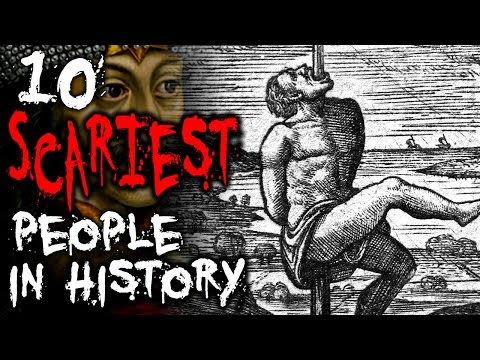10 SCARIEST People of All Time | TWISTED TENS #31