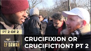 Video: Jesus' Crucifixion or Crucifiction? - Hamza Myatt 2/2