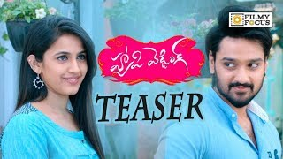 Happy Wedding Movie Official Teaser || Niharika, Sumanth Ashwin - Filmyfocs.com