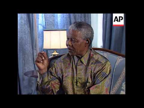 SOUTH AFRICA: NELSON MANDELA TO VISIT UNITED KINGDOM