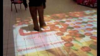ICT Kenya Installation of TouchMagix's Interactive Floor Projection