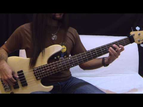 Philip Bailey Duet with Phil Collins  Easy Lover Bass  With Tabs { Juanka Trujillo}