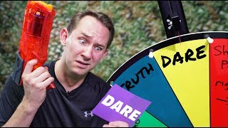 NERF Roulette: Truth or Dare Challenge! [Ep. 3]