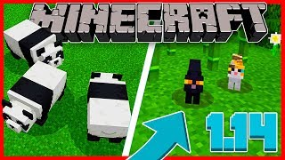 SAIU A PRIMEIRA SNAPSHOT DO MINECRAFT 1.14!!! 😱 - Minecraft Beta Bedrock Edition (Windows 10)
