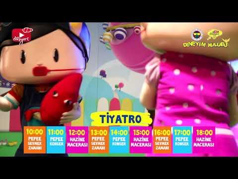 Pepee Sevmek Zamanı Müzikli Çocuk Oyunu - Fenerbahçe Düşyeri Çocuk Deneyim Kulübü