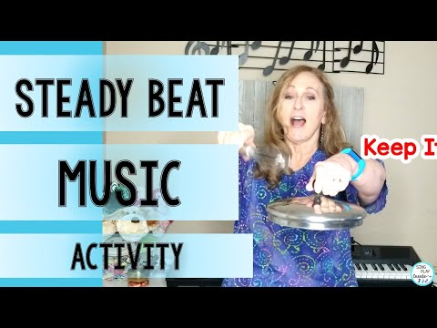 Steady Beat Activities for Distance Learning at Home