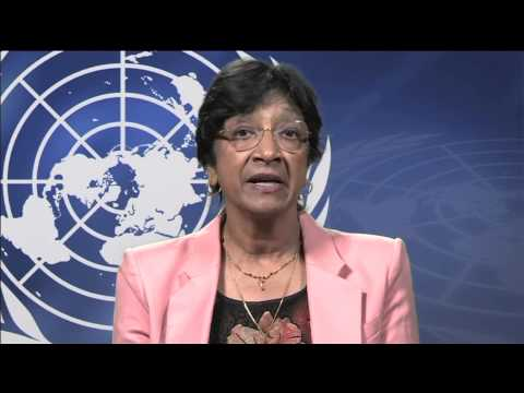UN High Commissioner for Human Rights Navi Pillay's Istanbul Summit Message