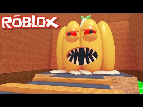 Roblox Halloween / Escape the Haunted House Obby / Eaten by an Evil Pumpkin!