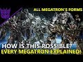 How Megatron Was Able To Obtained All His Robot Forms(EXPLAINED)   Transformers Bumblebee(2018)