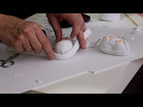 Como hacer zapatos para fofuchas sencillos