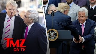 Patriots Owner Dines with Donald Trump at Fancy D.C. Dinner | TMZ TV