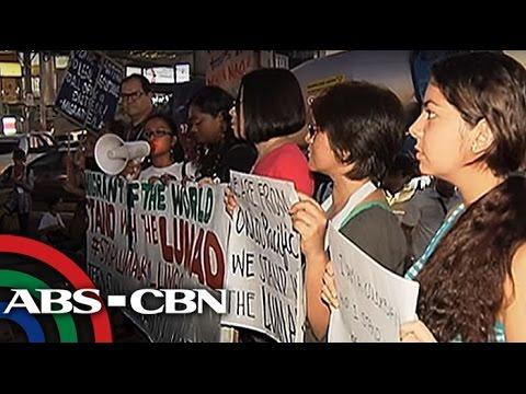 Bandila: Militant groups hold protest ahead of APEC Summit