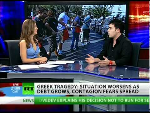 Greece the first domino to fall in the Eurozone?