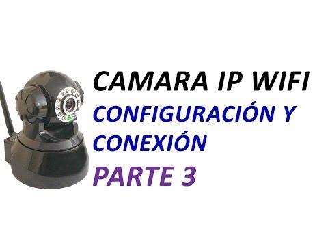 Configurar Camara IP Wifi Parte 3: Configurar Alertas de Email y Detector de Movimiento