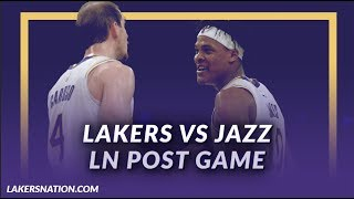 Lakers Discussion: Lakers Beat the Jazz, Jemerrio Jones gets 16 Rebs in First Start  Ever