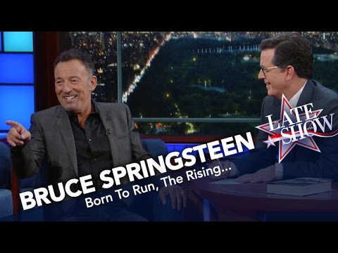 Bruce Springsteen Joins Colbert on The Late Show, Picks His Top 5 Favorite Songs news