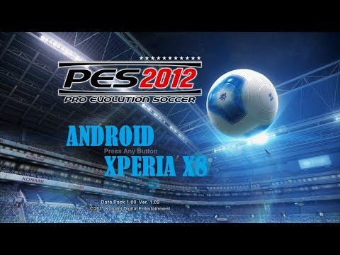 Tutorial de como baixar o pes 2012 para android - xperia x8
