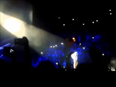 Wrecking Ball - MILEY CYRUS - Live at Ericsson Globe Stockholm, Sweden Bangerz Tour