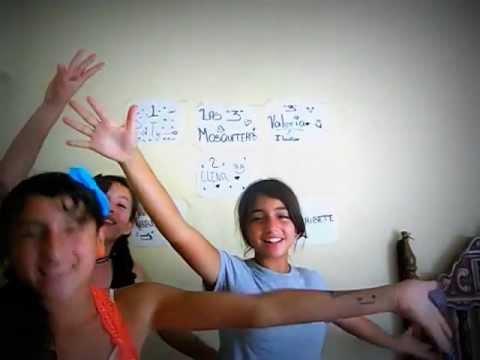 Las 3 mosqueteras Prensatacion/Cantando Una cancion!!