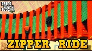 GTA 5 Online CCC_010 speaking German!! DB ZIPPER RIDE by OAKES ( custom stunt race with Link GTA V )
