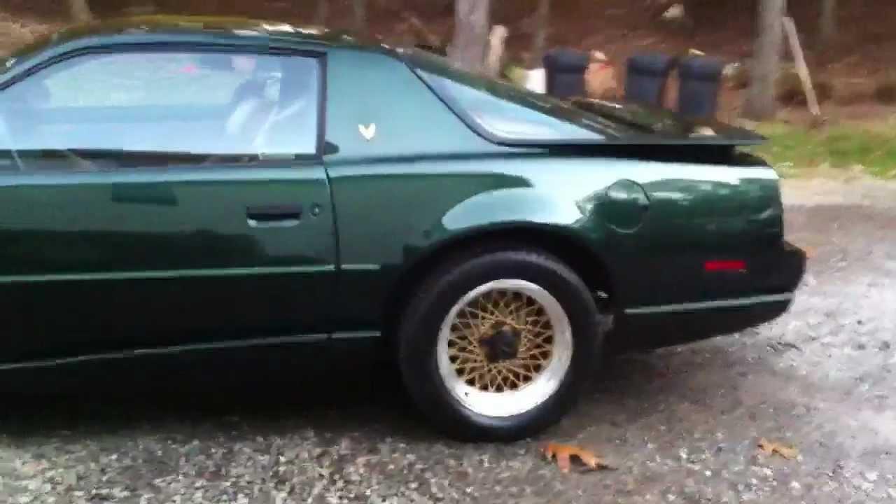 1991 Pontiac Trans Am Gta Flowmaster Youtube