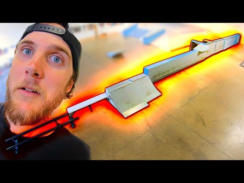 EXTREMELY DANGEROUS NARROW CHALLENGE! SKATEBOARD EDITION!